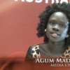 Agum Madit: a young woman with a passion for media