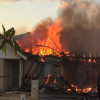 African family escapes fire but loses home on the first day of 2016