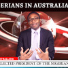 Re-elected Presidente of the Nigerian Society of Victoria speaks to AMA