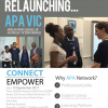 Relaunching APA in Melbourne