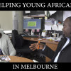 Who is helping troubled young Africans in Melbourne